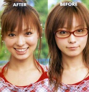 cewek berkacamata