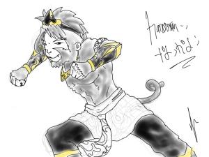 Hanoman / Anoman kuro mode