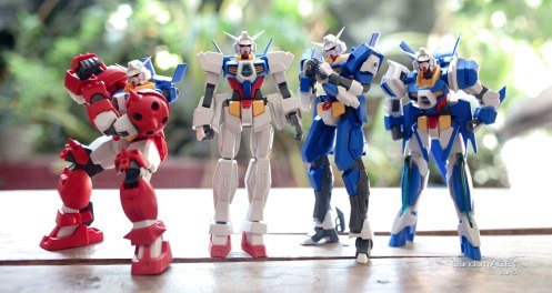 HG Age 1 kits (HG Age 1 Titus, HG Age 1 Normal, HG Age 1 Spallow, HG Age 1 Razor) picture