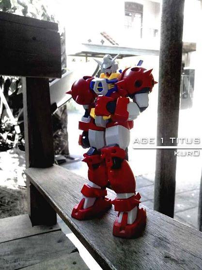 HG Gundam Age 1 Titus Camera : Andromax i Editor : Photoshop