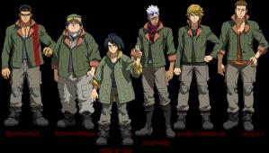 G-Tekketsu characters